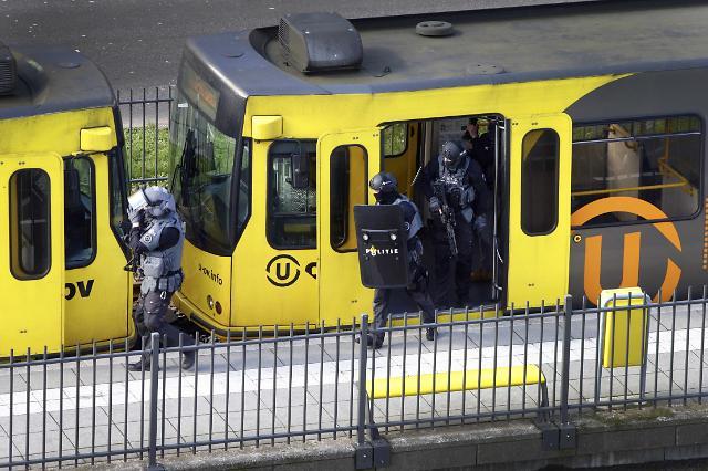 [포토] 네덜란드서 총기난사...3명 사망