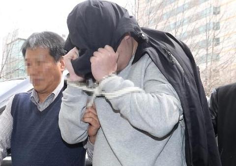 [슬라이드 화보] 청담동 이희진 부모 살해 용의자 검거 장면