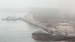 .韩政府计划2022年前港口雾霾减半.
