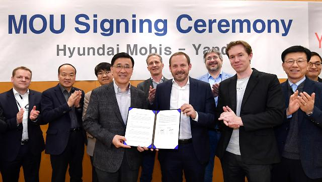 Hyundai Mobis teams up with Russian tech firm to develop driverless cars