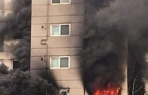 군산 화재, 베란다 부근서 연기 시작됐다?…12명 부상