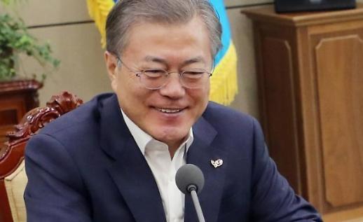 Tổng thống Moon nói rằng mặc dù đã có khởi sắc, nền kinh tế vẫn cần một cú hích