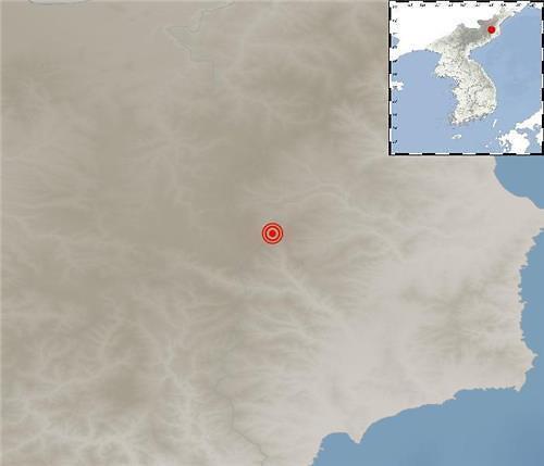 韩气象厅:朝鲜吉州附近发生2.8级自然地震