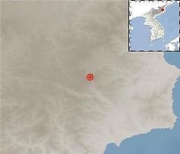 .韩气象厅:朝鲜吉州附近发生2.8级自然地震.