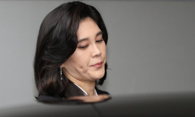[포토] 주주총회 참석하는 이부진 사장