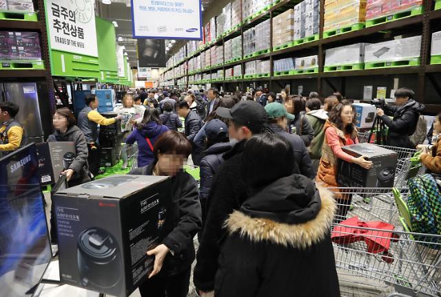 트레이더스 월계점, 최단기간 최다매출…'에어프라이어·골든구스' 완판