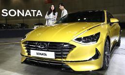 .Hyundai Motor releases revamped version of trademark mid-size sedan Sonata.
