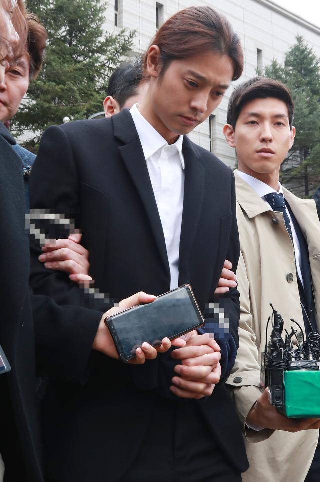 [속보] '성관계 몰카 유포' 정준영 구속