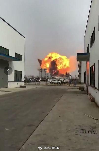 中 장쑤성 폭발 100여명 부상 …인공지진도 발생