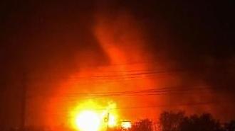 [영상] 중국 화학공장 폭발사고 당시 모습…쾅 하는 소리와 거대 불길이…