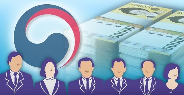韩国公开高级公务员91人财产 前经济副总理申报24亿