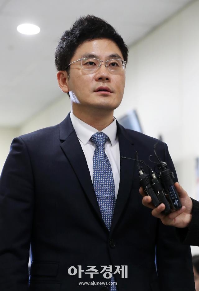 [포토] 주주총회 참석하는 양현석 친동생 양민석 YG엔터테인먼트 대표
