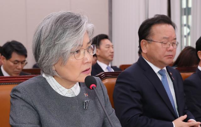 """강경화 미세먼지 발언 파장…""""韓먼지도 中으로 날아간다"""" 상호책임론 언급"""