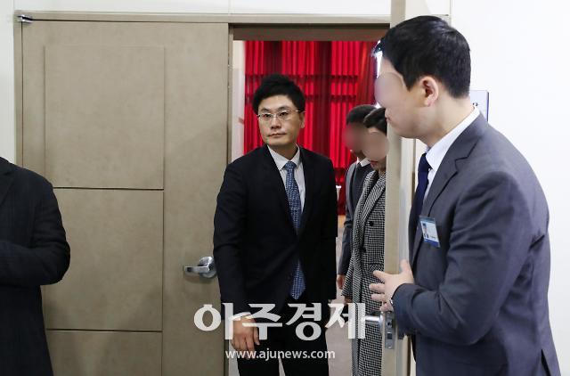 [포토] YG 주주총회 입장하는 양민석 대표