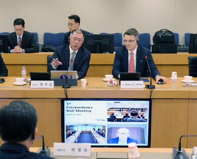 정의선 수석부회장, 현대차‧현대모비스 대표이사 올라… ES시대 개막