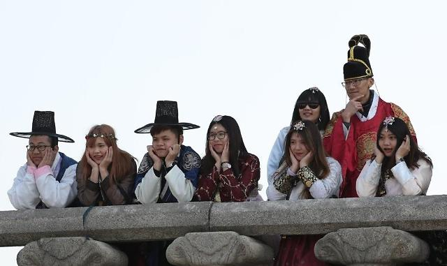 韩国2月接待外国游客同比增15%