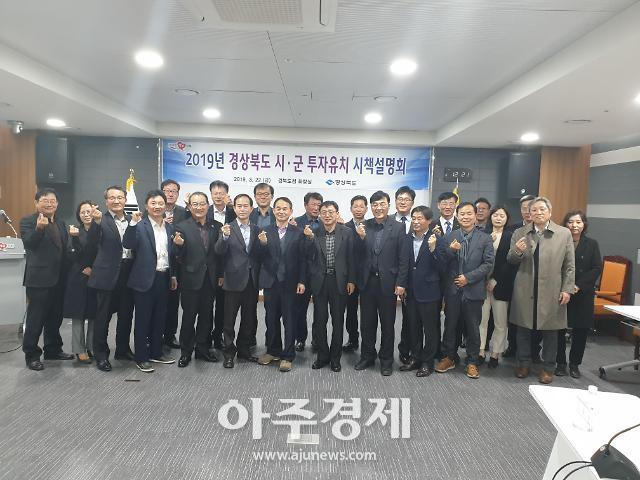 경북도, 올해 5조원 투자유치·일자리창출 결의