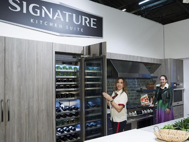 LG전자, 북미 최대 건축 디자인쇼서 시그니처 키친 스위트 소개