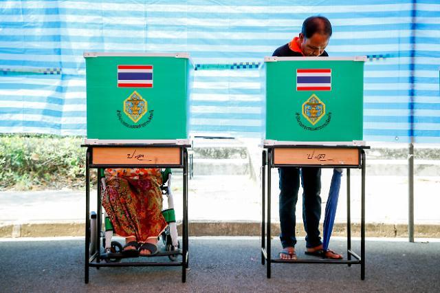 태국 총선 93% 개표…군부 지지 팔랑쁘라차랏당 1위 이변