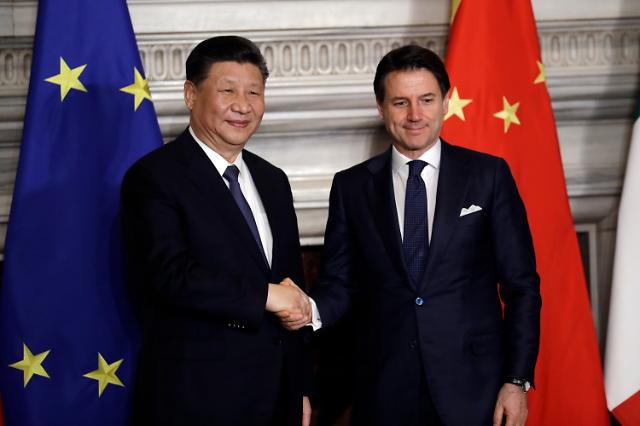 """中언론 """"일대일로, 유럽에 긍정적""""...트로이목마 우려 불식에 나서"""