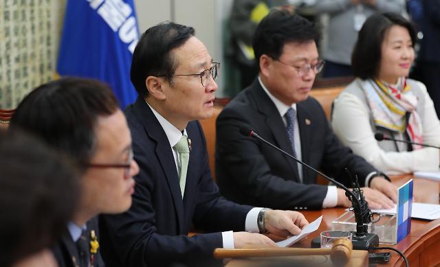 """홍영표 """"선거제 개혁 지연 불가""""…바른미래당 공수처법 수용 의사"""