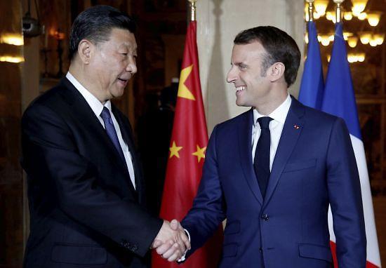 시진핑의 유럽 일대일로 외교…마크롱 설득할까