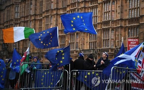 """""""브렉시트 취소하라"""" 英 의회 청원 서명자 530만명 넘어섰다"""