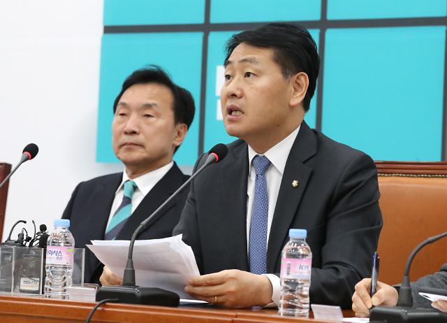 """김관영 """"민주당 개혁의지 있다면 선거제 패스트트랙 받아야"""""""