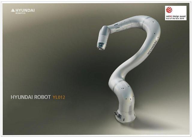 现代机器人获红点最佳设计奖