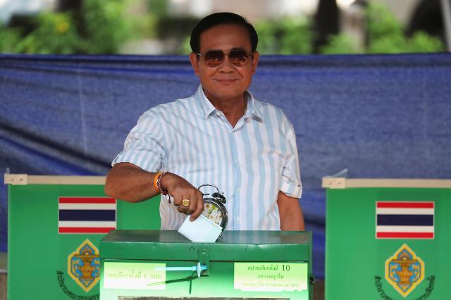 태국 민정(民政)보다 안정(安定) 선택…군부출신 현 총리 유력
