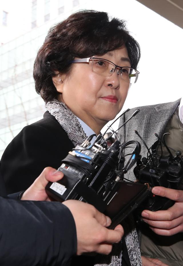 [속보] 김은경 전 환경부 장관, 구속영장 기각