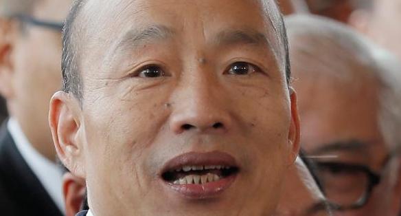 대만 친중 성향 한궈위의 대륙行…중국서 융슝한 대접