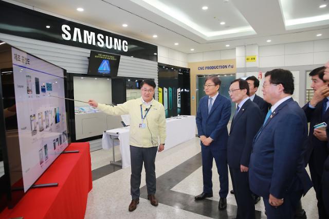 [포토] 베트남 삼성전자 방문한 이해찬
