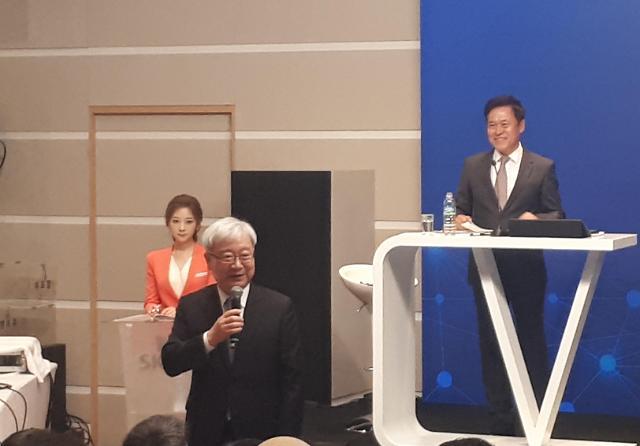 [SKT 주총] SK텔레콤, 김석동 전 금융위원장 사외이사로