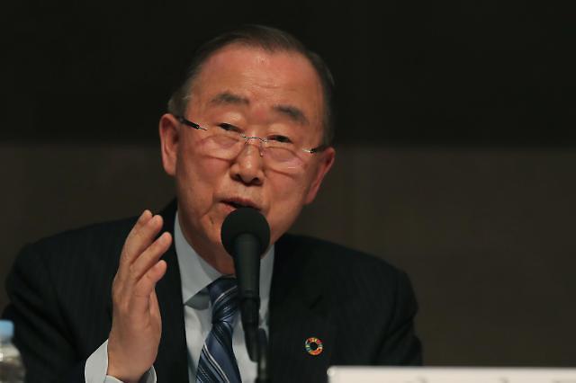 潘基文:不应与持有核武器的朝鲜共事 朝美无核化定义不同