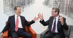 .韩国-比利时商务论坛在首尔举行.