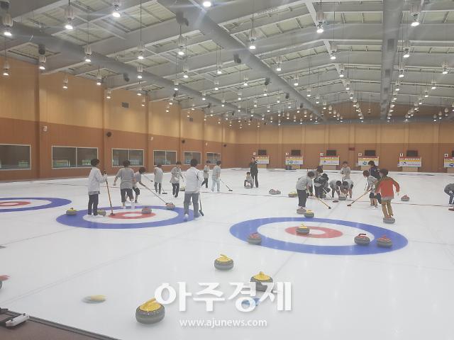 [의정부] 시설관리공단, 컬링경기장 무료체험교실·컬링그리컵 개최