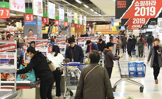 韩国4月起禁止在大型超市百货商店使用一次性塑料袋