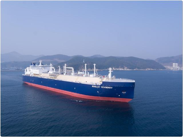 대우조선해양, 세계 최초 쇄빙LNG선 4척 명명식