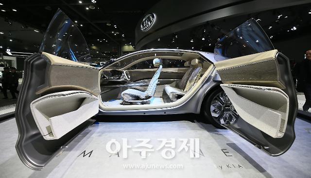 [포토] 기아차의 전기차 콘셉트카 이매진 바이 기아(Imagine by KIA)