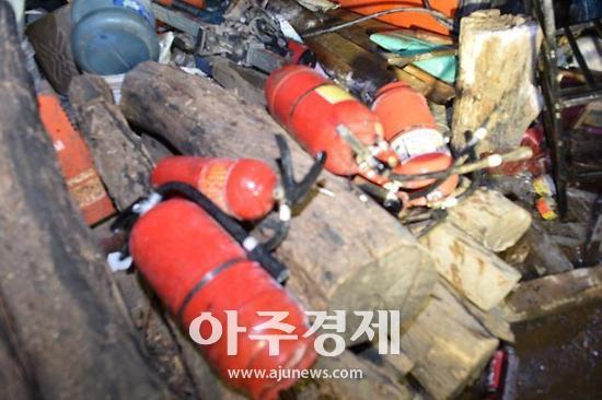 광명소방 주거용 비닐하우스 화재 주택용 소방시설로 큰 피해 막아