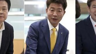 [4·3 보선] 창원성산 강기윤·여영국·손석형 후보 사전투표