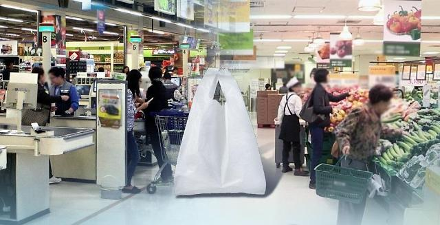 韩国大型超市即日起不再提供塑料袋