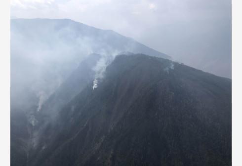 [중국포토]中 쓰촨성 고산지대서 산불...소방관 최소 26명 사망
