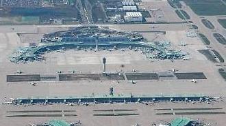 Sân bay Incheon Hàn Quốc trở thành sân bay dân dụng lớn thứ 5 trên thế giới