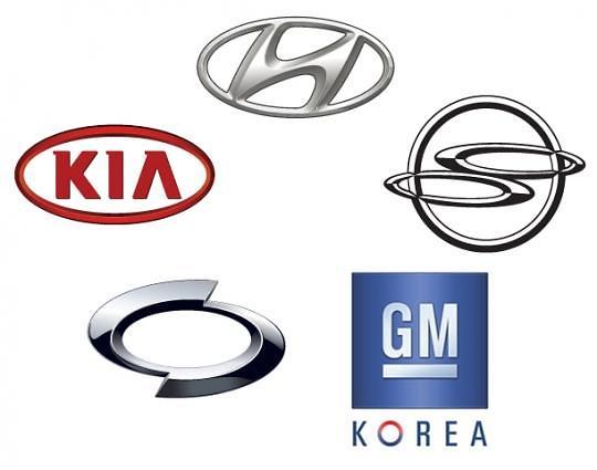 韩国五大整车厂商3月国内外销量双双下滑