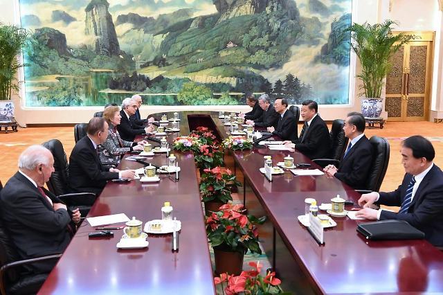 """시진핑 """"대국은 서로 화목해야"""" 미중 무역협상 앞두고 트럼프에 협력메시지"""