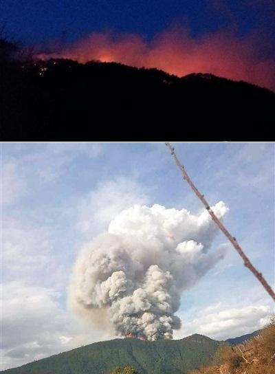 산불주의보 순천 산불 이틀째…中 쓰촨성에서는 소방대원 30명 사망