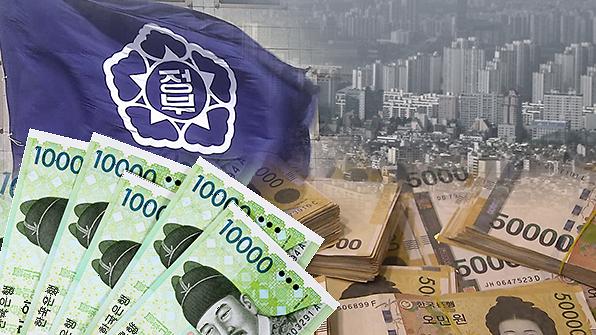 韩国国家负债史上首次逼近1700万亿韩元