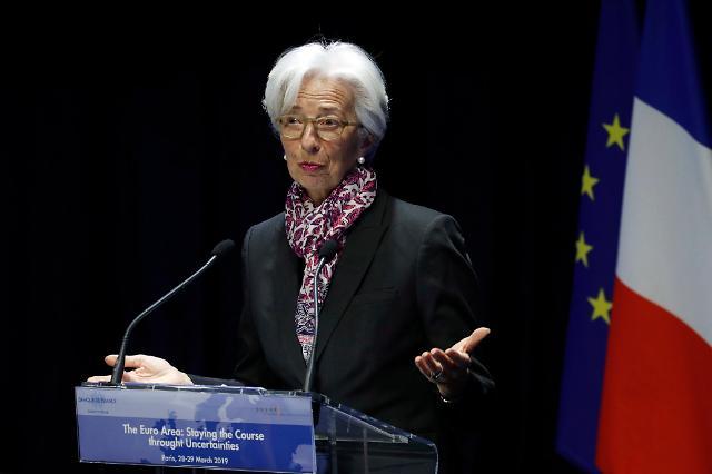 """IMF총재 """"세계경제 70%가 둔화…경기침체 임박한 것은 아냐"""""""